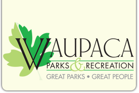 Waupaca | Parks & Recreation Logo